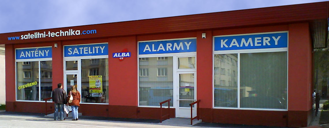 Novostavba obchodu Alarmy-kamery, Karviná